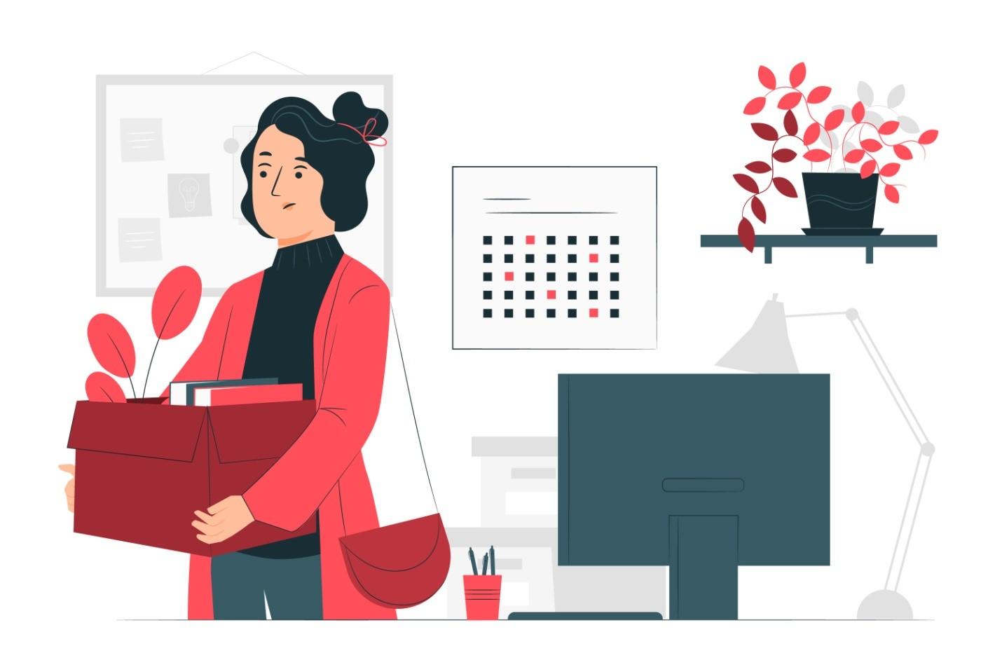 data scientist quitting her job
